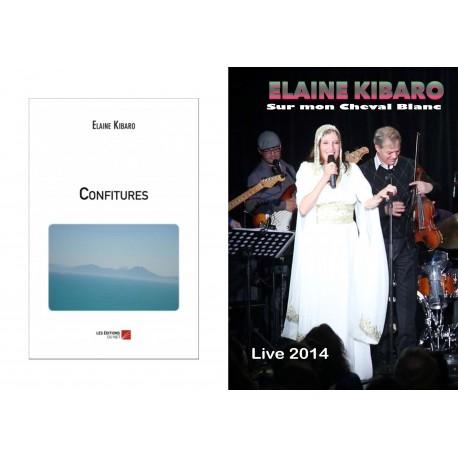 Coffret Confitures (Roman) et Sur mon Cheval Blanc (CD/DVD)