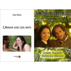 Coffret l'Amour avec des mots (livre et CD/DVD)