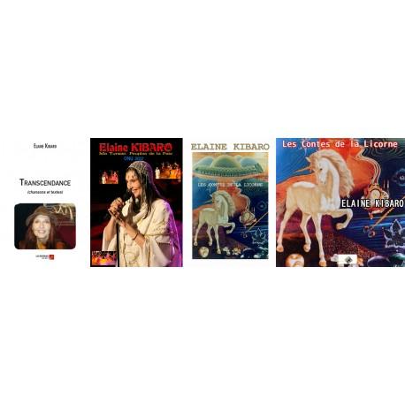Transcendance, Les Contes de la Licorne et 2 DVD/CD Ma Tunisie, peuples de la Paix et Les Contes de la Licorne