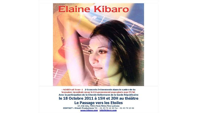 """Elaine Kibaro """"Médiéval Tour"""" - Octobre 2011"""