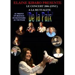 DVD CONCERT DE LA PAIX 2006