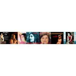 3 DVD Jazzy, Live Casino de Paris 2007, Ces phrases qui ont changé ma vie, les 4 CD L'Intense, Mondes, L'Intemporel, Goulettoise