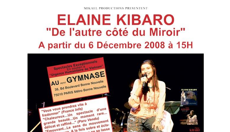 Elaine Kibaro au petit Gymnase - décembre 2008